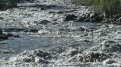 Wild Indus river,Kargil,Ladakh,India Stock Footage
