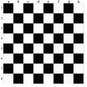 Chess-board Stock Illustration