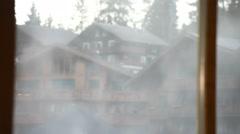 Closeup shot of Smoke Stock Footage