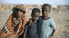 Ethiopian children, Ethiopia, Africa Stock Footage