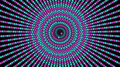 Loopable cyclic animated kaleidoscopic spiral-63A29b-n - stock footage