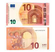 New ten euro banknote - stock photo