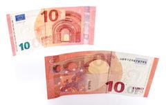 Stock Photo of New ten euro banknote