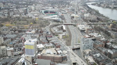 Fenway park (home of Boston Red Sox) in Boston, USA. Stock Footage