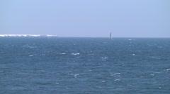 Sea in Hokkaido, Japan Stock Footage