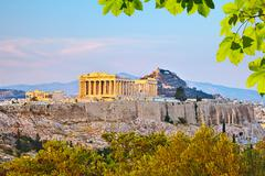 Acropolis in Athens - stock photo
