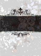 Stock Illustration of ornate frame