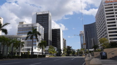 Puerto Rico banking district buildings 5 of 8 Stock Footage