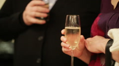 Reception on banket Stock Footage