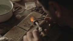 Jewellery making Stock Footage