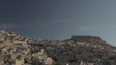 Mardin city view Stock Footage
