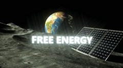 Free energy - stock footage