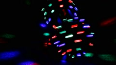 Disco lights background. Discoball. Abstract, party, nightclub - stock footage