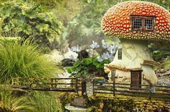 Fairy house (mushroom) Stock Illustration