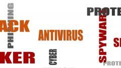 Stock Video Footage of antivirus relative tags cloud