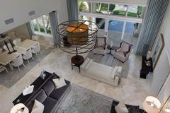 Luxury mansion interior photo - stock photo
