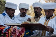 Sigd - An Ethiopian Jews Holiday - stock photo