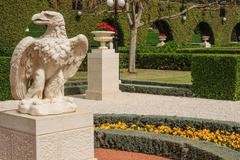 Stock Photo of Bahai Gardens, Acre