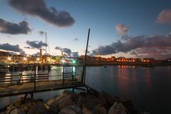 Acre Fishing Harbor Stock Photos