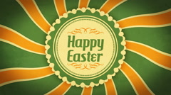 Easter Background  Stock Footage
