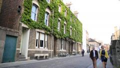 Oxford architecture, England, Europe Stock Footage
