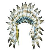 Stock Illustration of Native hat