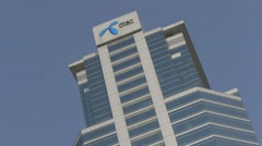 DTAC Office @ Chamchuri Square Stock Footage