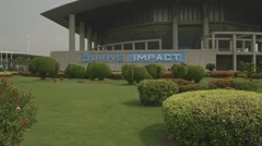Impact Arena Muang Thong Thani (Slow Motion) Stock Footage
