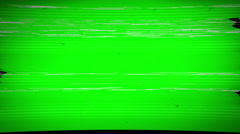 Digital TV Low Signal Distortion Loop Stock Footage