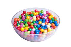 Multi colored Pearls Stock Photos