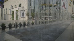 Siam Paragon Shopping Mall (Slow Motion) Stock Footage