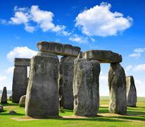 Stonehenge - stock photo