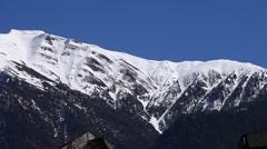 Snow winter Swiss Stock Footage