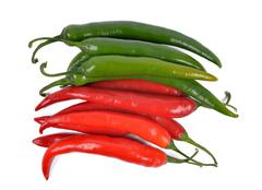 Hot chilli peppers Stock Photos