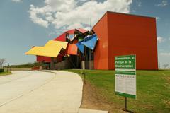 Parque Biodiversidad Biodiversity Museum In Panama City Stock Photos