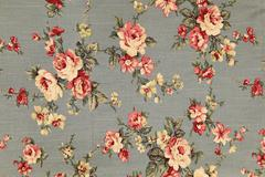 Background texture fabric floral pattern - stock photo