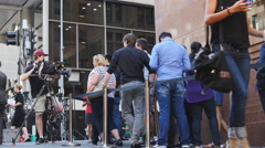 Lindt siege Sydney cafe reopens 25 4K Stock Footage