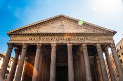 Pantheon, Rome - stock photo