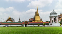 Grand Palace width cloudy sky - DSLR Timelapse Stock Footage