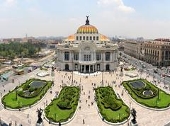 The Fine Arts Palace Museum in Mexico City, Mexico Stock Photos