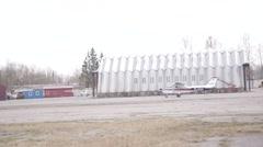 Cesna Airplane Stock Footage