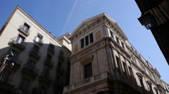 The School of applied arts and artistic disciplines, Barcelona Stock Footage