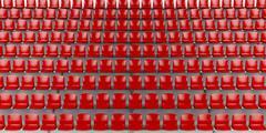 Football stadium Stock Illustration