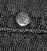 rivet on clothes - stock photo