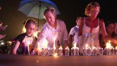 Tsunami Anniversary Khao Lak  - stock footage