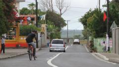 Street scene in Bois Cheri, Mauritius. Stock Footage