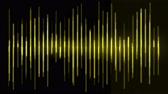 4k Audio equalizer,music rhythm Volume,speakers waves spectrum,heart-rate,vj. Stock Footage