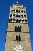 Stock Photo of Pistoia (Tuscany, Italy), belfry of the cathedral