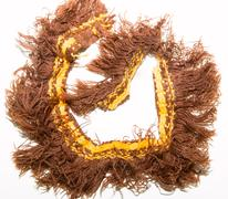 fringe brown - stock photo