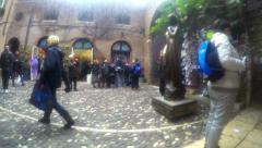UHD House of Romeo and Julieta timelapse Stock Footage